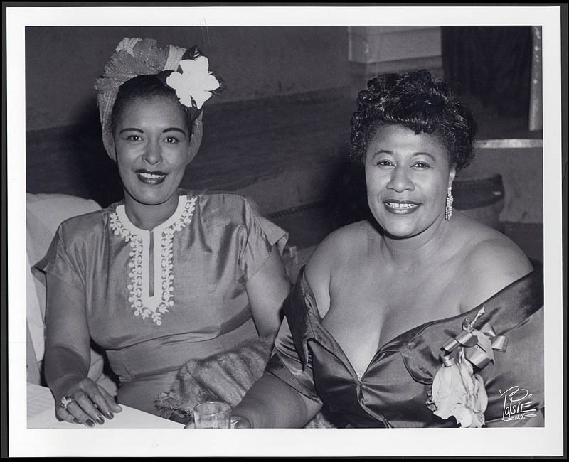 Ella Fitzgerald Billie Holiday